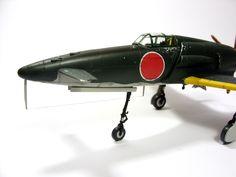 1:72 J7W Shinden VII by Zero-Cannard.deviantart.com on @deviantART