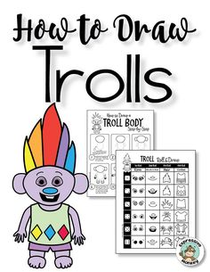 Get your students drawing with an irresistible FREE troll drawing activity from Expressive Monkey.