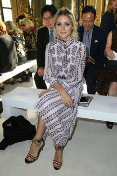Front row Milan Fashion Week More