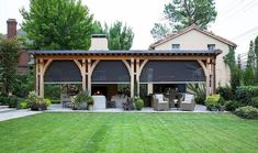 From gazebo creations to reimagined awnings and beyond, discover the top 60 best patio roof ideas. Explore covered shelter designs for your backyard. Backyard Patio Designs, Backyard Landscaping, Backyard Ideas, Patio Ideas, Sloped Backyard, Roof Ideas, Patio Roof, Back Patio, Outdoor Rooms