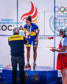 Fabriana Arias does it again dual gold  at the South American Games for Colombia  on the distance events. Congratulations Fabriana we are so proud of you! #Cocha2018  @fabrianaarias . . . #Follow @mpcwheels for more photos you love.  Go to: www.mpcturbo.com for more info on our wheels. Follow our link in our bio for more info. Tag MPC Wheels for a chance to be featured. MPC proudly #MadeWithLoveinUSA  #Love #MyWheels  #LoveMyLife #GoSkate #fitness #inspiration #training #SkateLove #Sk8orDie… Inline Speed Skates, American Games, Skate Wheels, Inline Skating, Proud Of You, Roller Skating, Love Of My Life, Fitness Inspiration, Congratulations