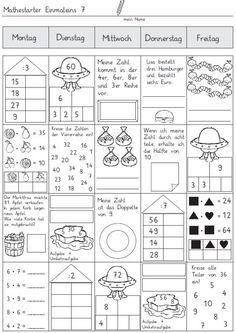 mathestarter-1x1-woche-7-und-8 - Zaubereinmaleins - DesignBlog