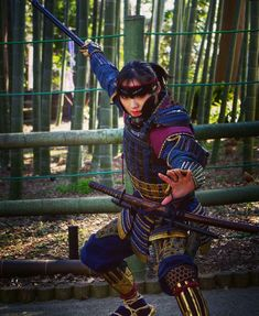 Shadow Warrior, Samurai, Punk, Manga, Comics, Anime, Style, Fashion, Warriors