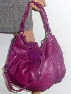 Marc by Marc Jacobs Leather Logo Hobo Bag