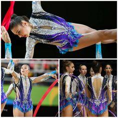 Group Israel, ribbons 2016, hoops 2017