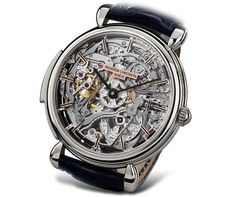Vacheron Constantin. Gorgeous works of über-high-precision engineering. Sex on a strap.