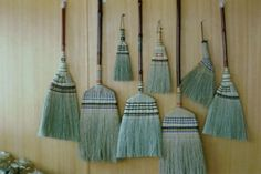 Corn Brooms... eco-friendly and rustic