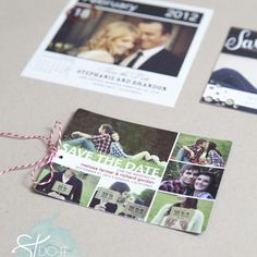 how to embellish store bought save the dates