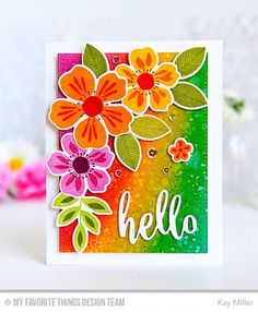 Flashy Florals May Kit Product Launch