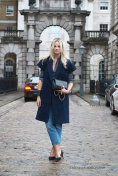 LFW street style by Michelle Bobb-Parris for Luisa Via Roma