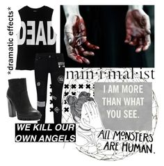 """What Do You See?..."" by thepsychopath ❤ liked on Polyvore featuring art"
