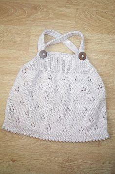 Knit Child's Dress via Ravelry, no pattern - inspiration only