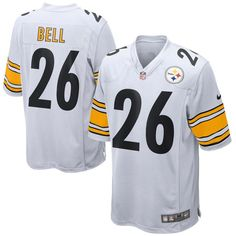 Le Veon Bell Pittsburgh Steelers Nike Youth Game Jersey - White ab8598649
