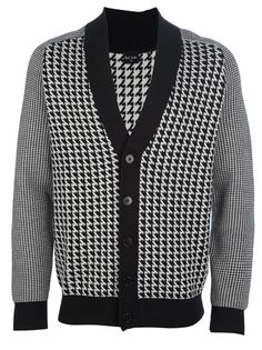 PAUL SMITH Check Cardigan