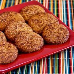 Almond Flour Snickerdoodles - great idea for Paleo Diet and/or gluten sensitive friends.