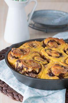 The Sweetest Taste: Rollos de calabaza