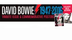 David Bowie 1947 - 2016 Tribute Issue & Commemorative Posters