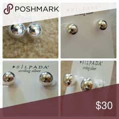 SILPADA RICH ABUNDANCE Sterling silver beads on your earlobes....is there anything more festive?! Silpada Jewelry Earrings