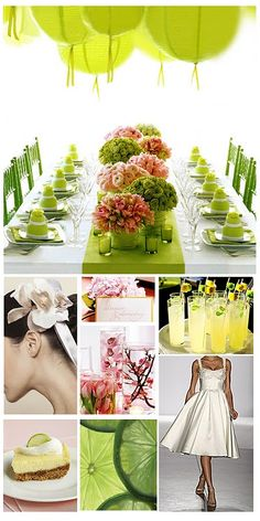 #lime and #pink inspiration board