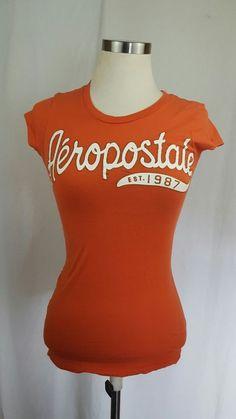 Aeropostale Women\'s XS 100% Cotton T-Shirt  \