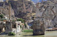 Hasankeyf a antiga cidade na Turquia