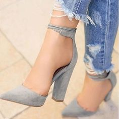 High Heels Summer Shoes Pumps Thin Air Heels About Gender: Women Pump Type: Basic Lining Material: PU Style: Fashion Fit: Fits smaller than usual. Heel Height: Super High (8cm-up) With Platforms: No H #pumpsoutfit