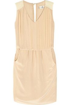Penumbra two-tone pleated silk dress by Day Birger at  Mikkelsen