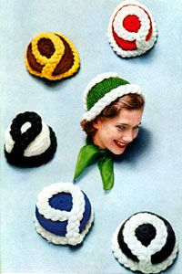 Free vintage crochet patterns!