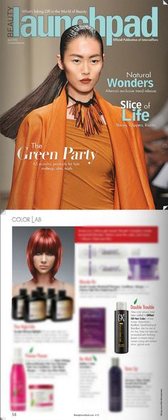 We were mentioned in the April Issue of Beauty Launchpad.