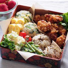 No photo description available. Bento Recipes, Healthy Recipes, Cute Food, Yummy Food, Aesthetic Food, Food Cravings, Food Presentation, Asian Recipes, Food Inspiration