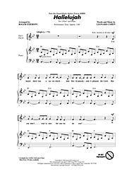 Hallelujah Digital Sheet Music by Leonard Cohen   Sheet Music Plus