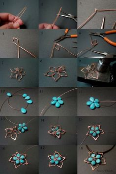Flower Stones and Wire based11