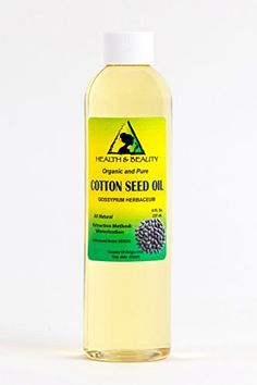 Cottonseed  Cotton Seed Oil Organic Carrier Winterized Cold Pressed 100 Pure 8 oz * Learn more by visiting the image link.