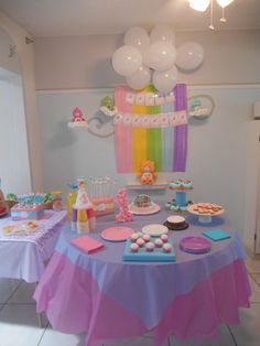 Care Bears Birthday Party Decoration/Background