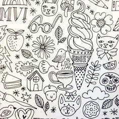 Doodle forever. Doodle. Doodle.