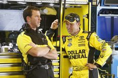 Top 10 active driver-crew chief pairings  By Kenny Bruce | Thursday, December 15, 2016  7. Matt Kenseth and Jason Ratcliff; No. 20 Joe Gibbs Racing Toyota: When it comes to experience, few have more than this Joe Gibbs Racing combination. Ratcliff, 49, has been calling the shots as a crew chief since 1999; his first full-time run atop the box in NASCAR's premier series came in 2012 at JGR with then-driver Joey Logano.  More...