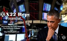 The Stock Market Drop Is The Economic Collapse Warning Shot