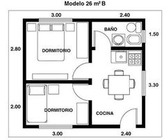 Studio Apartment Floor Plans, Studio Floor Plans, Hotel Floor Plan, Studio Apartment Layout, Apartment Plans, House Floor Plans, Cabin House Plans, Tiny House Cabin, Small House Plans