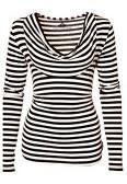 nice model on stripes