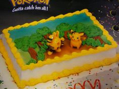 Pokemon Pikachu and Friends Cake Decoration Kit Toppers ...