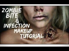 Easy Halloween Makeup Tutorial | Zombie Bride - YouTube