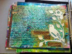 Art Journal Pages – early August