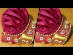This video shows how to cut and stitch this beautiful bridal puff sleeve in a simple and easy way. Patch Work Blouse Designs, Kids Blouse Designs, Hand Designs, Kurti Sleeves Design, Sleeves Designs For Dresses, Sleeve Designs, Back Neck Designs, Blouse Neck Designs, Baby Dress Design