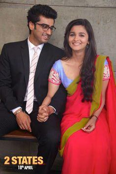 Arjun Kapoor - Alia Bhatt in 2 States. #Style #Bollywood #Fashion #Beauty
