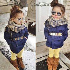 Girls fall/winter fashion / kid fashion