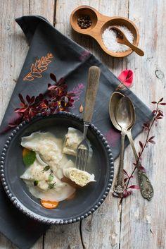 Rybne pierogi z pstrągiem - Kuchnia Agaty - najsmaczniejszy blog kulinarny!