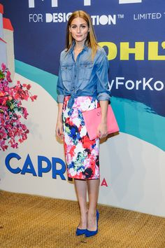 Olivia Palermo Wore a $40 Kohl's Skirt—And Made It Look Like a Million Bucks | StyleCaster