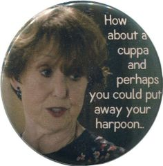 BBC Sherlock, Mrs. Hudson How about a cuppa?