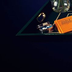 Luxury lacquered tray | CASATI | Bottom left view | CÔCO GIN | Serving tray | Luxury | BUTLERS TRAY