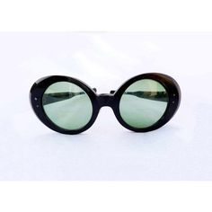 1930s Bakelite Eyeglasses Size 5 1/4 Oversized Sunglasses Prescription... ($55) ❤ liked on Polyvore featuring accessories, eyewear, sunglasses, over sized sunglasses, oversized sunglasses, oversized eyewear, iris glasses and oversized glasses